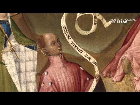 Obras comentadas: Oración en el huerto con el donante Luis I de Orleans, Anónimo (1400-1407)