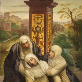 Estigmatización de Santa Catalina de Siena (copia)