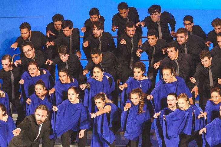 El Prado en Navidad. Coro de Jóvenes de Madrid