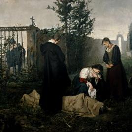 Lope de Vega en el cementerio