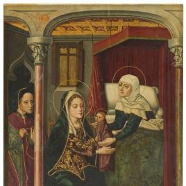 El nacimiento de san Juan Bautista
