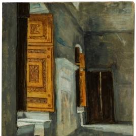 The Sala di Constantino in the Vatican (study)