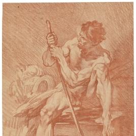 Academia: hombe desnudo