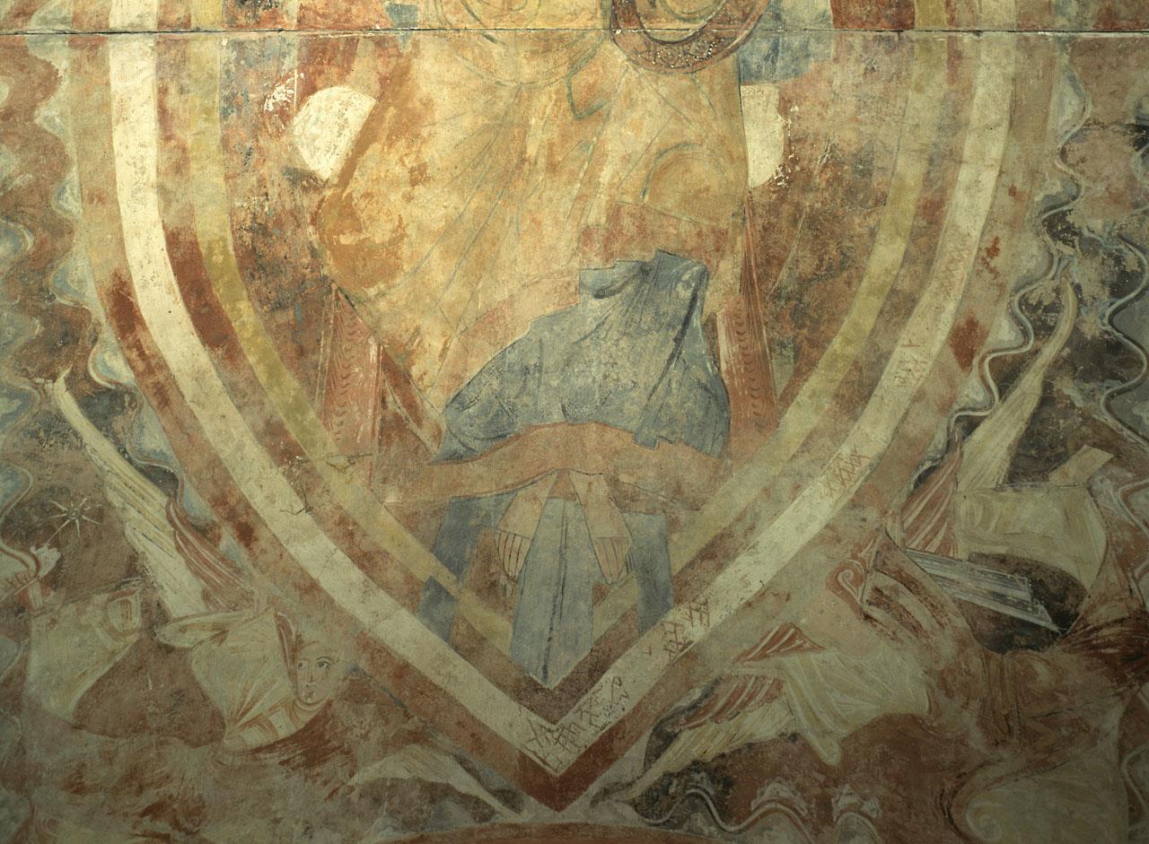 Pinturas murales de la ermita de Vera Cruz de Maderuelo (Segovia) [anónimo español]