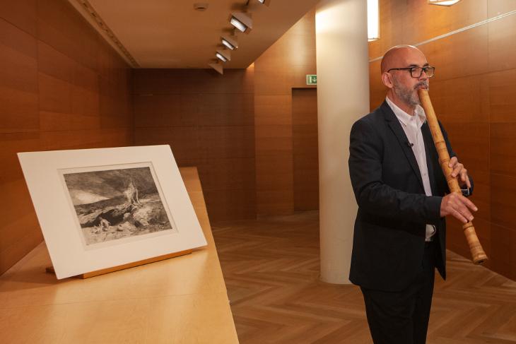 La Orquesta Nacional de España homenajea al Museo del Prado con el estreno absoluto de la obra Desert de Ramón Humet