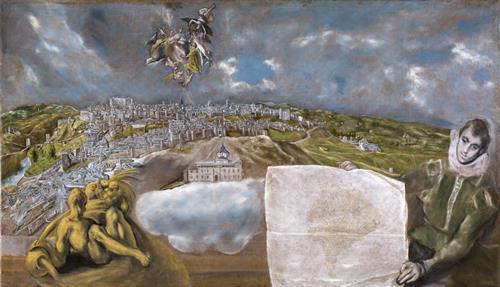 El Museo del Prado enriquece temporalmente su colección de El Greco incorporando la obra Vista y plano de Toledo