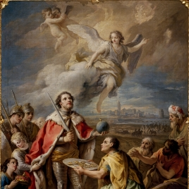 Seville Surrenders to the king, Saint Ferdinand