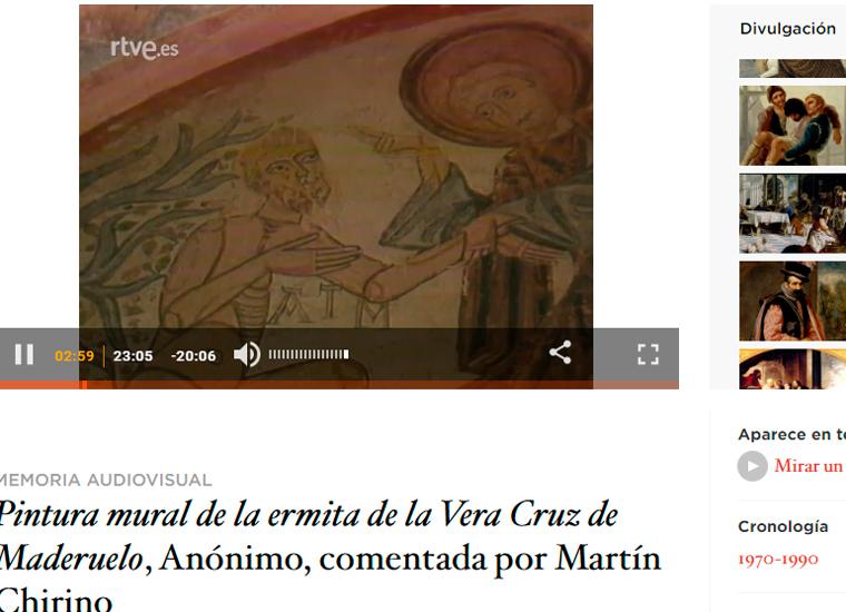 2. La ermita de la Vera Cruz de Maderuelo