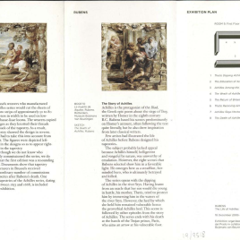 Rubens : la historia de Aquiles = Rubens: The Life of Achilles /Museo Nacional del Prado.