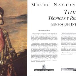 Tiziano [Material gráfico] : técnicas y restauraciones : simposium international.