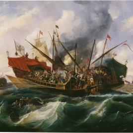 Episodio del combate naval de Lepanto