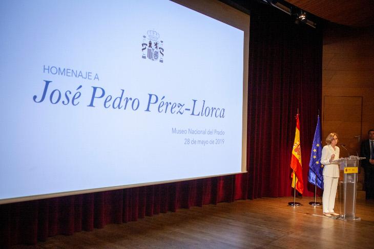 El Ministerio de Cultura y el Museo del Prado rinden homenaje a la figura de José Pedro Pérez-Llorca