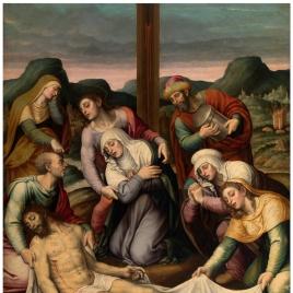 Llanto ante Cristo muerto