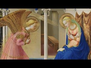 "The restoration of ""The Annunciation"" by Fra Angelico"
