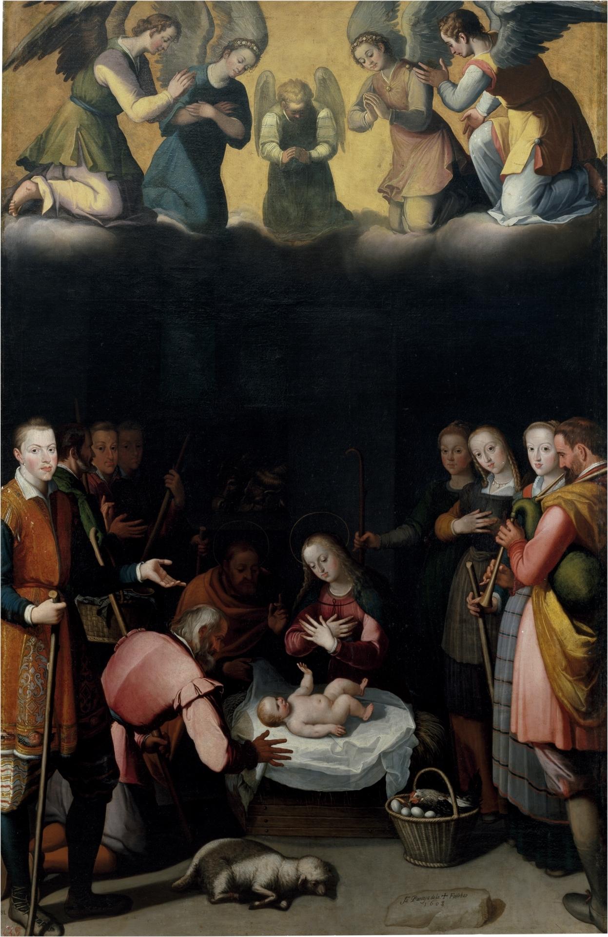 El nacimiento de Cristo - Colección - Museo Nacional del Prado