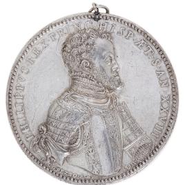 Felipe II / El dios Apolo-Helios en su carro