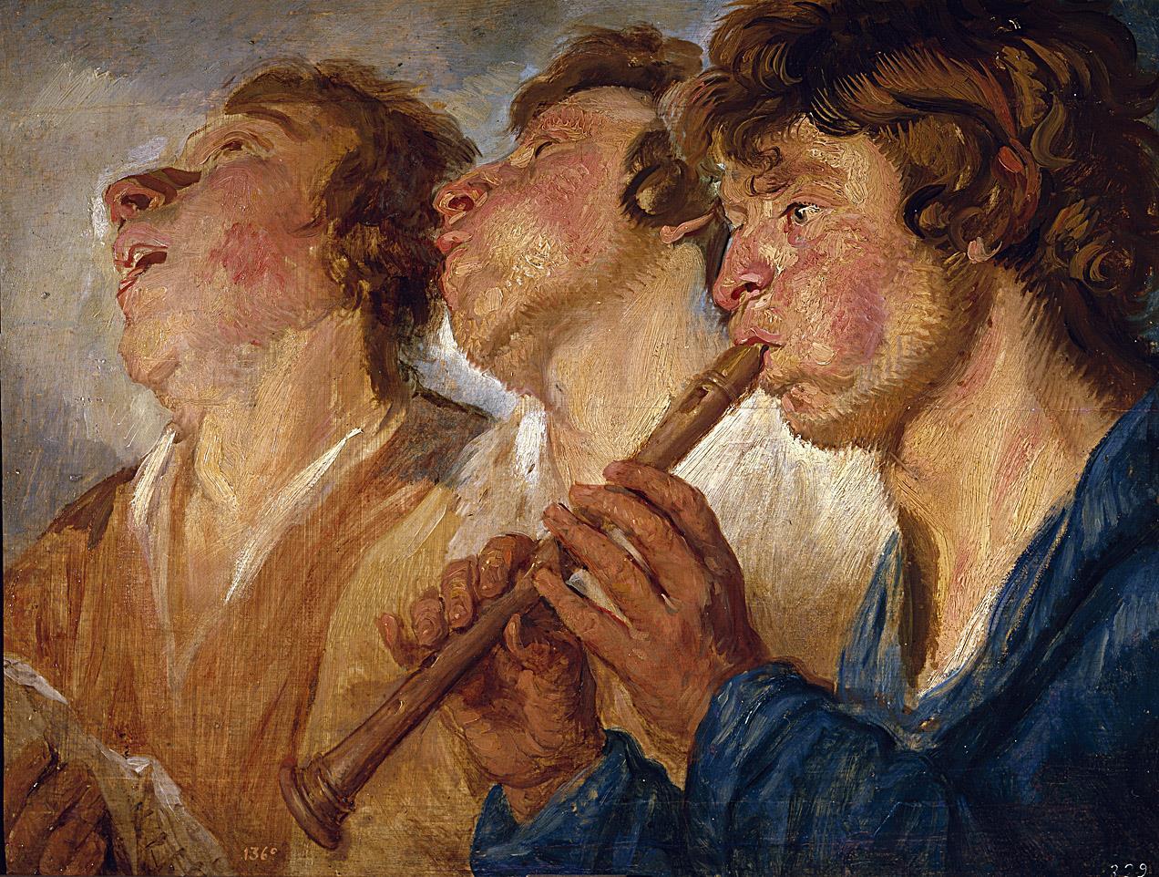 Tres músicos ambulantes [Jordaens]