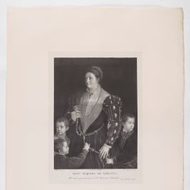 Camilla Gonzaga, Countess of San Segundo, and her Sons