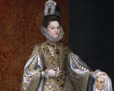 La infanta Isabel Clara Eugenia y Magdalena Ruiz