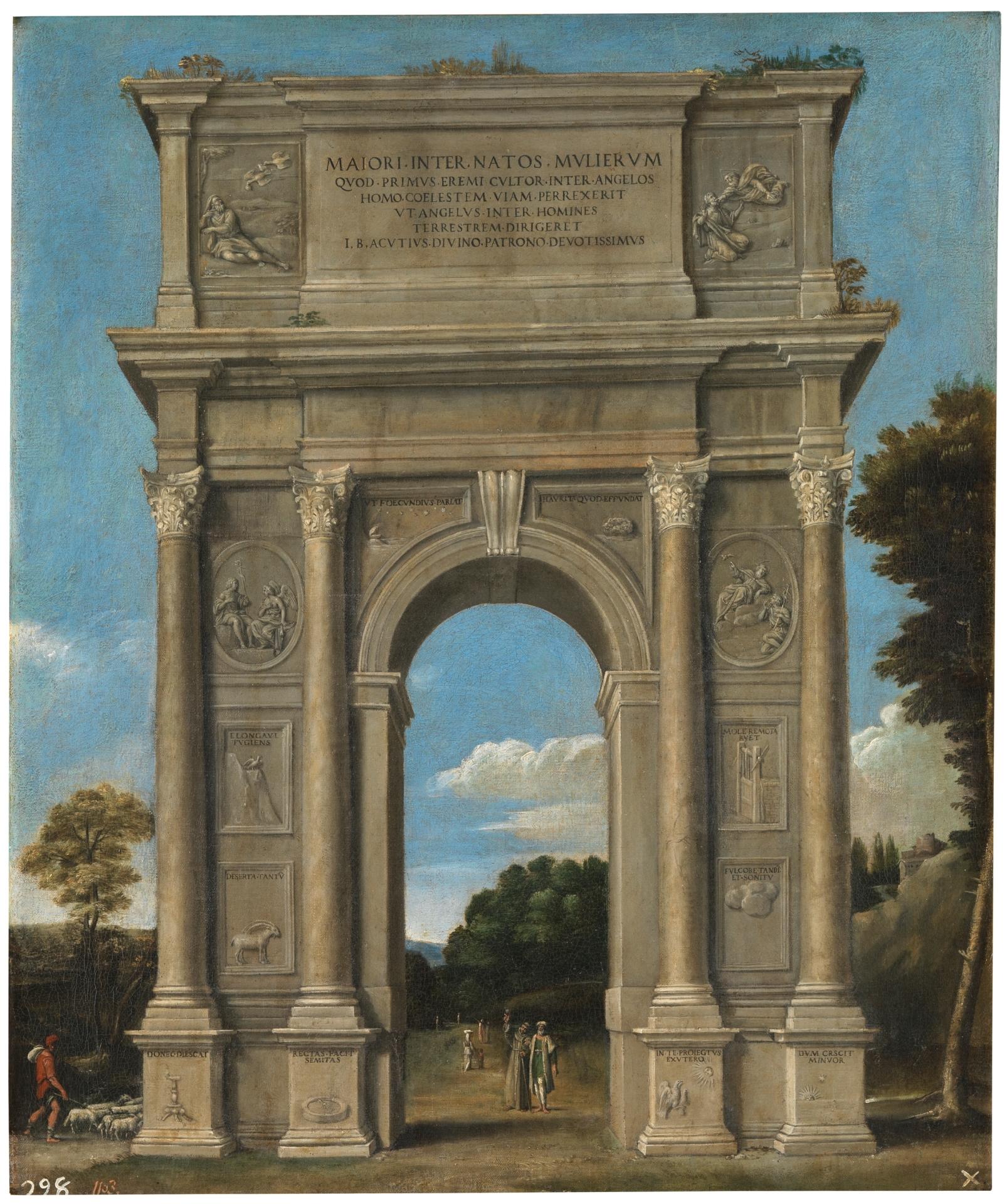 Arco De Triunfo Coleccion Museo Nacional Del Prado