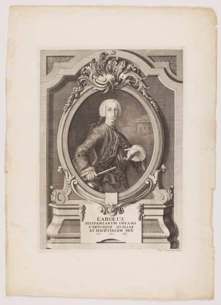 Carlos III (como Carlos VII de Nápoles y Sicilia)