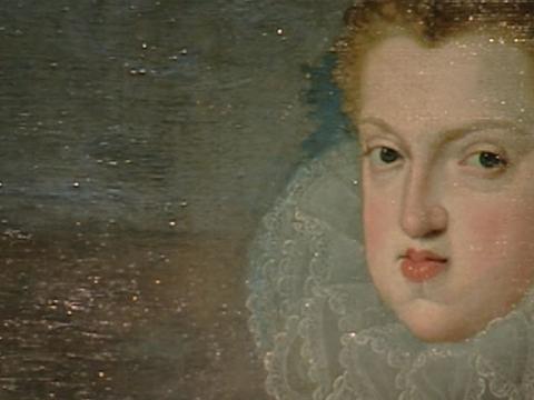 Los cuadros de Felipe III y Margarita de Austria recuperan su composición original