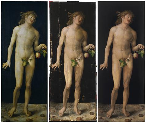 Dürer's Adam and Eve return to public display at the Prado following their painstaking and complex restoration