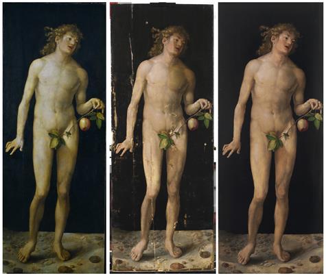 Adán y Eva de Durero vuelven a exhibirse en el Prado tras una laboriosa y compleja restauración