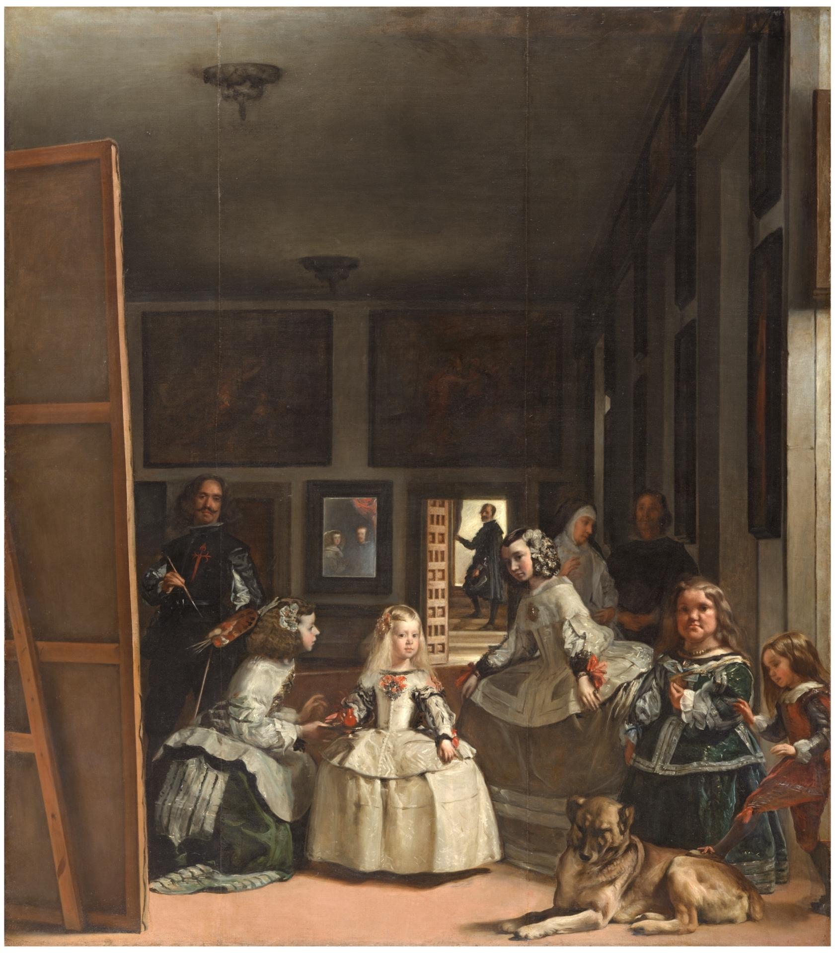 Las meninas - Colección - Museo Nacional del Prado