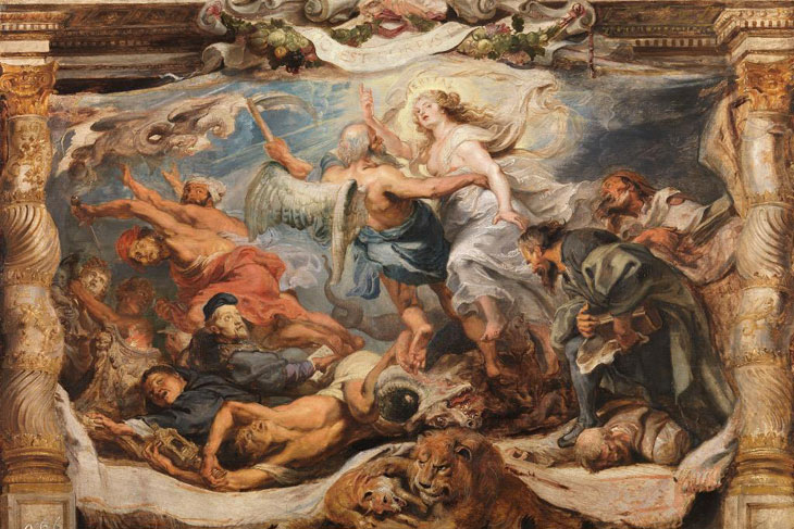 De la tabla al telar: los tapices del Triunfo de la Eucaristía