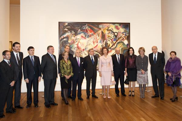 HM The Queen of Spain inaugurates the exhibition 'The Hermitage in the Prado""