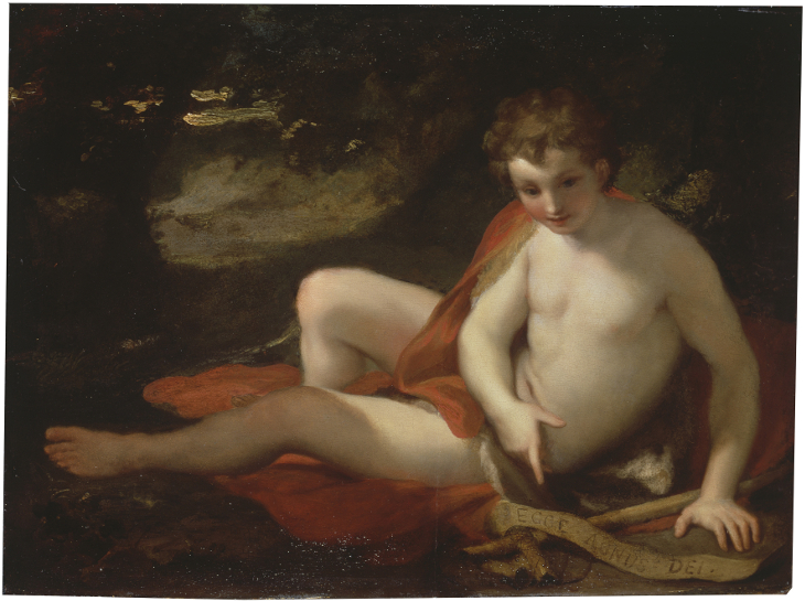 The youthful Saint John the Baptist in the Desert