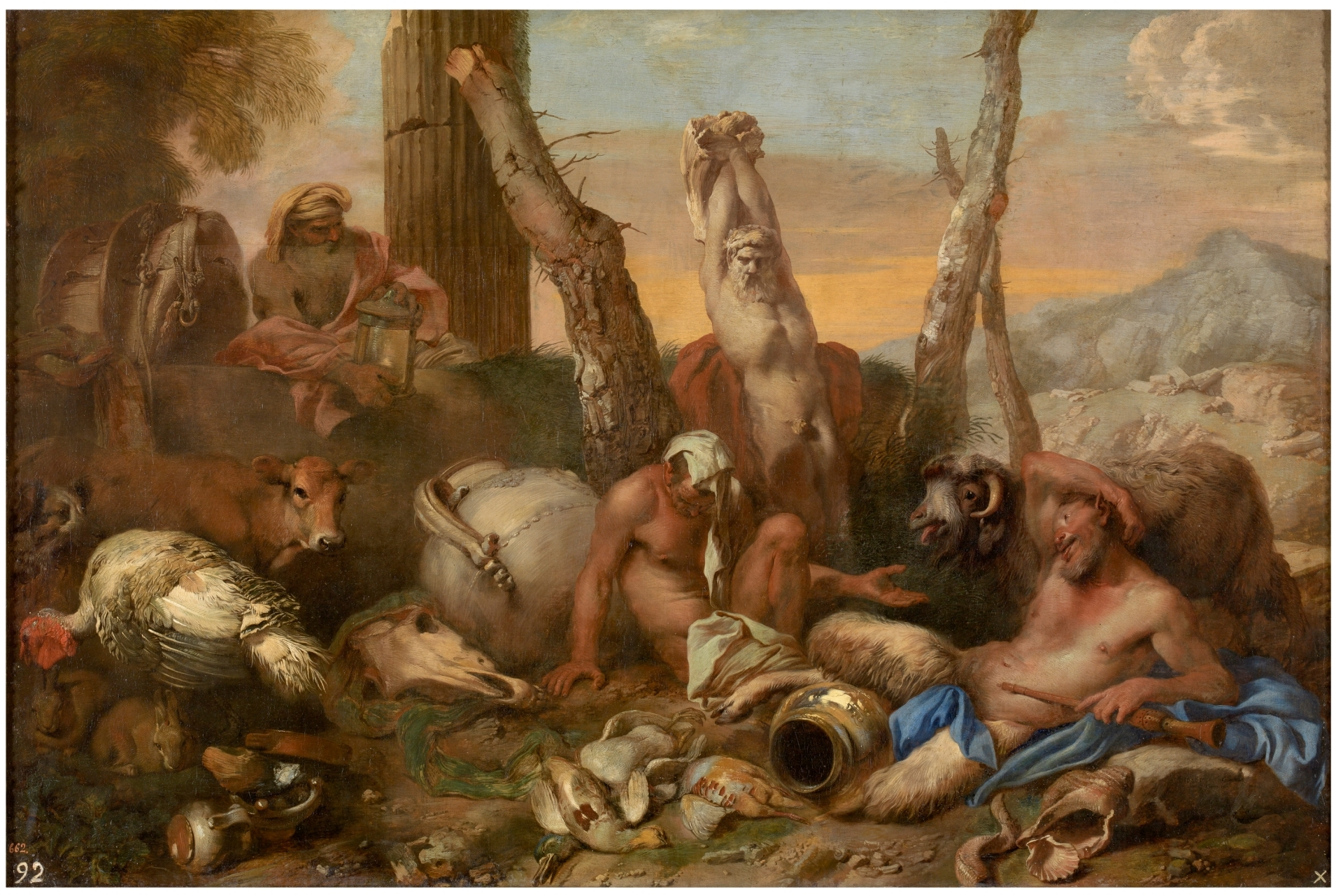 Diogenes Searching For A Man The Collection Museo