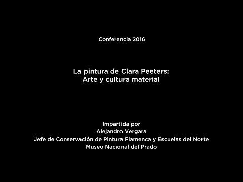 Conferencia: La pintura de Clara Peeters. Arte y cultura material