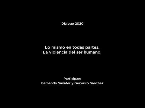 """Diálogo """"Sólo la voluntad me sobra"""": Fernando Savater y Gervasio Sánchez"""
