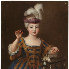 Girl with a Bird Cage
