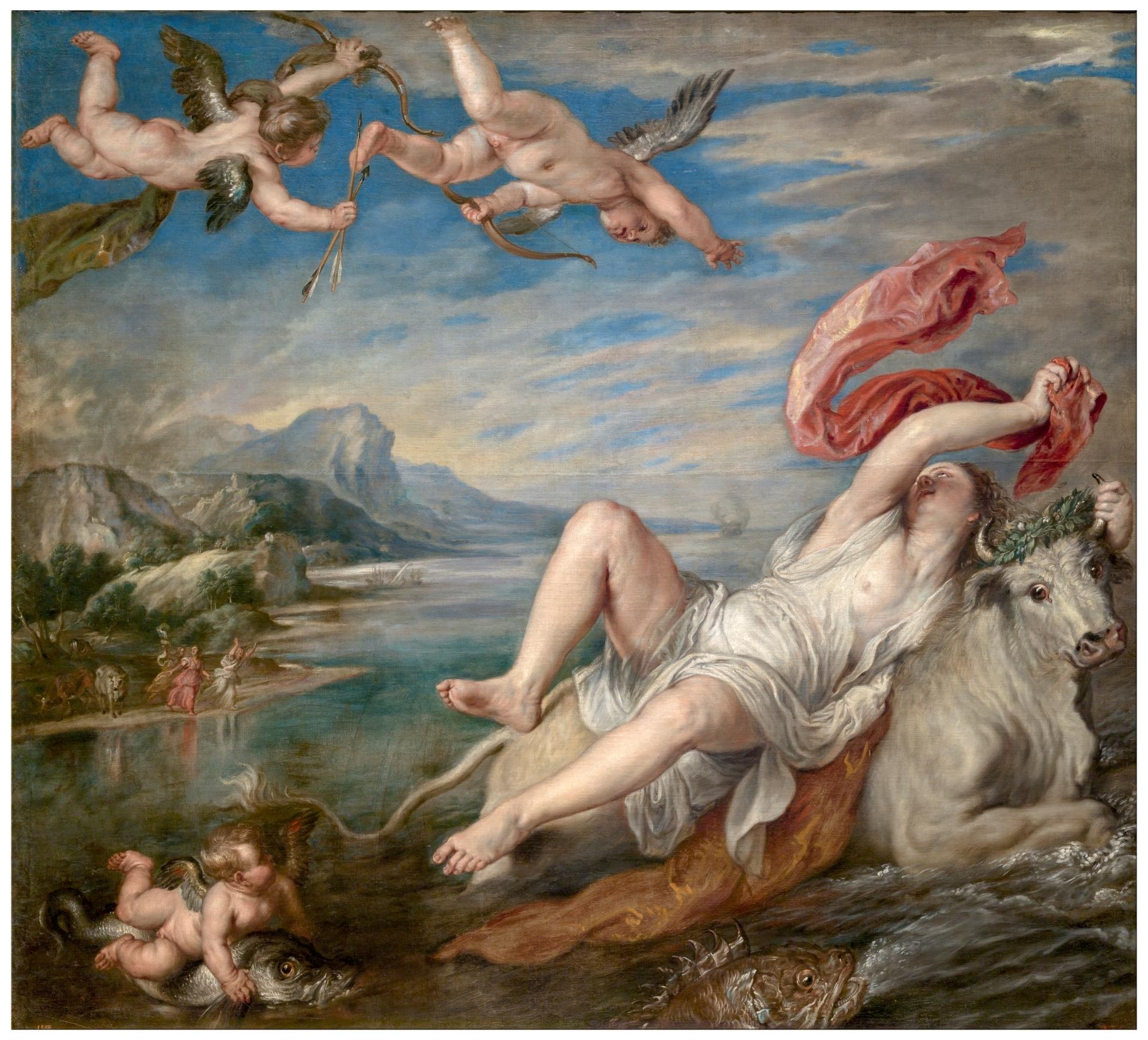 The Rape of Europe - The Collection - Museo Nacional del Prado