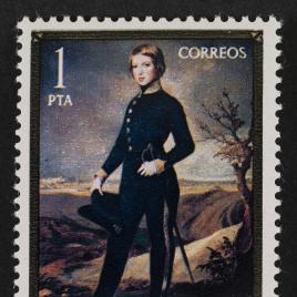 Serie de sellos Federico Madrazo