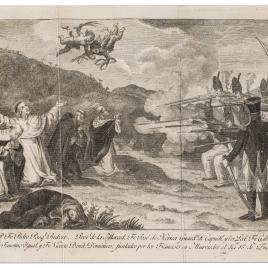 Los cinco religiosos fusilados en Murviedro durante la Guerra de la Independencia