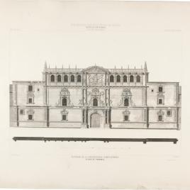 Fachada de la Universidad Complutense en Alcalá de Henares, Madrid
