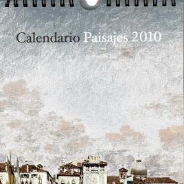Calendario Paisajes 2010 del Museo del Prado