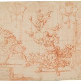 Alegoría del cardenal Benedetto Pamphili