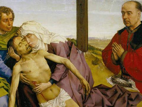 <em>La Piedad</em>, Rogier van der Weyden (taller de), comentada por Juan Antonio Vallejo-Nágera