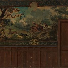 Cacería medieval (boceto)