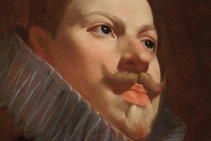 Retrato de Felipe III de Velázquez