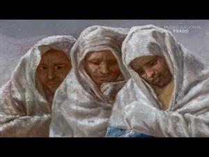 """""""La nevada o El Invierno"""", de Francisco de Goya"""