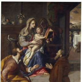 The Holy Family of Cardinal Fernando de' Medici