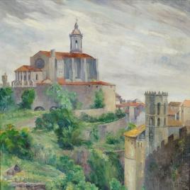 La catedral de Gerona. Cataluña
