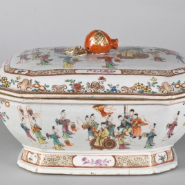 Soup tureen. Dutch East India Company