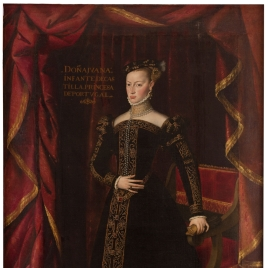 Joanna of Austria, sister of King Philip II of Spain, Princess of Portugal